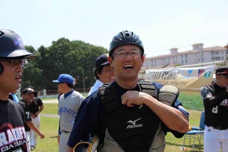 野球教室 古田 敦也